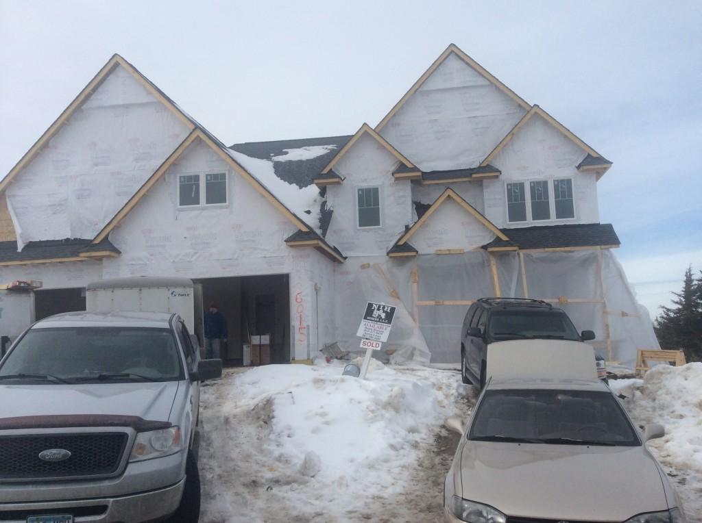 Terra vista luxury home with under garage workshop nih for Garage below house