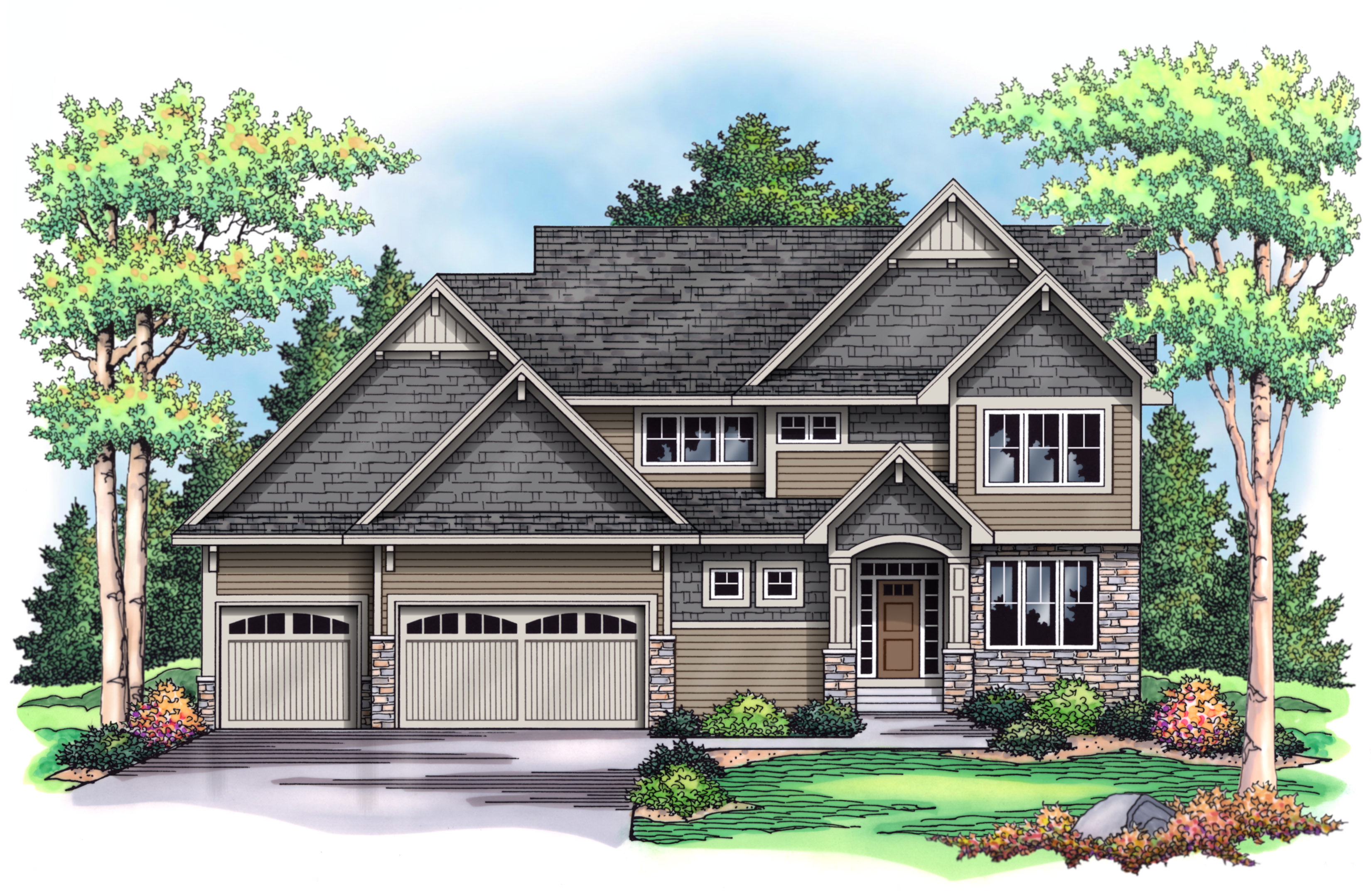 New luxury spec home for sale in cedarcrest of maple grove for Modern homes for sale mn