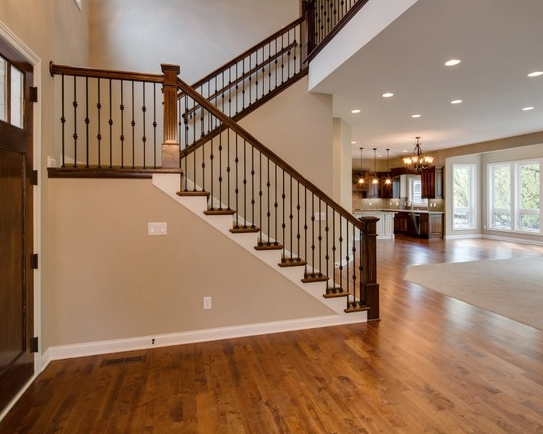 Houzz Two Story Foyer : Two story foyer in terra vista ii nih