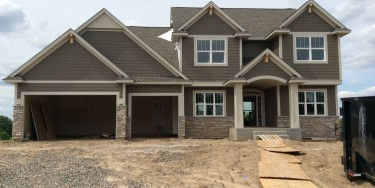 Model home in Kingdom Estates of Elk River