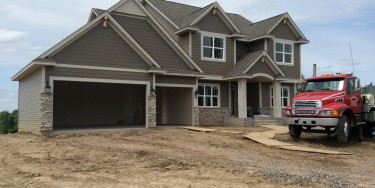 Luxury Model Home in Kingdom Estates of Elk River MN