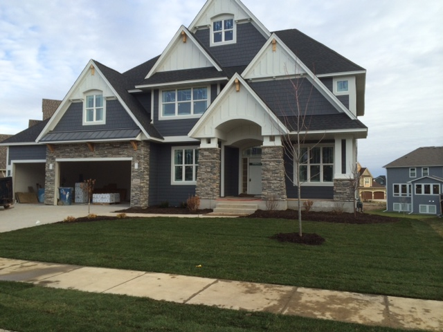 New luxury home in plymouth mn available just in time for for Modern homes for sale mn